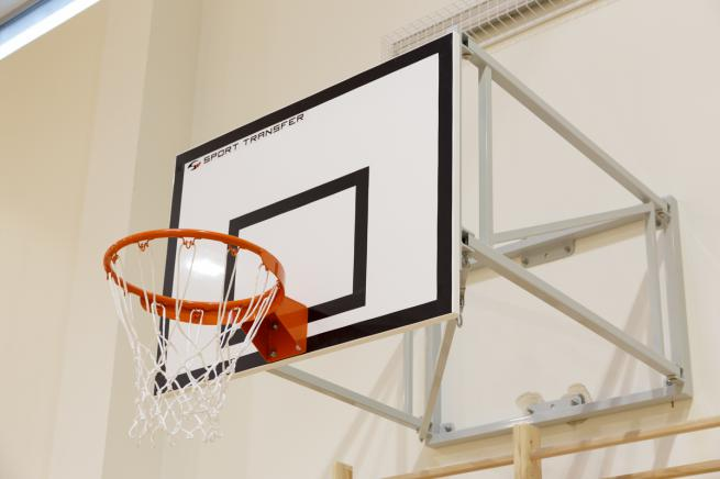 90x120 cm basketball back-board - epoxy resin sheet on frame