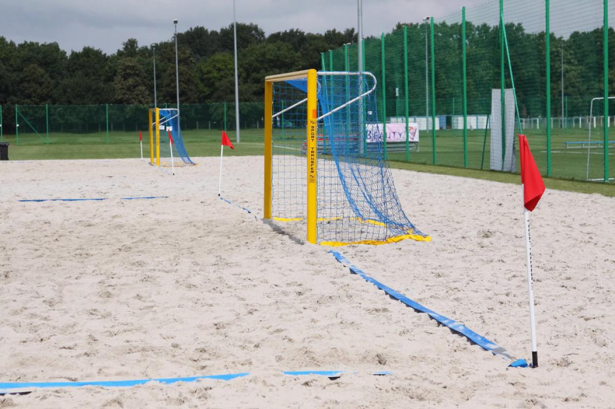 Beach Football Court Lines